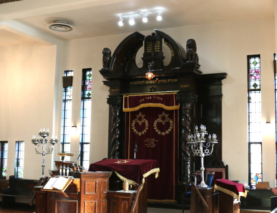 Congregation B'Nai Israel Open House 2017 - Tour of the sanctuary