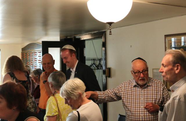 Congregation B'Nai Israel Open House 2017 - Newman Memorial Jewish Community Centre. mosaicedition/ea