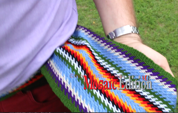 The new sash of the Toronto and York Region Métis is developed having in mind what it means to be a Métis person in Toronto and York region, says Todd Ross – Special Adviser on Tripartite – The Métis Nation of Ontario.