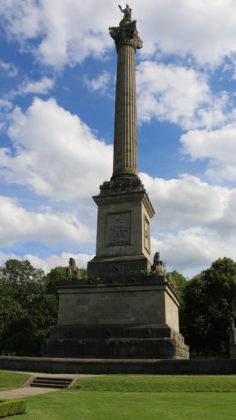 The Brock's Monument – Queenston Heights Battlefield