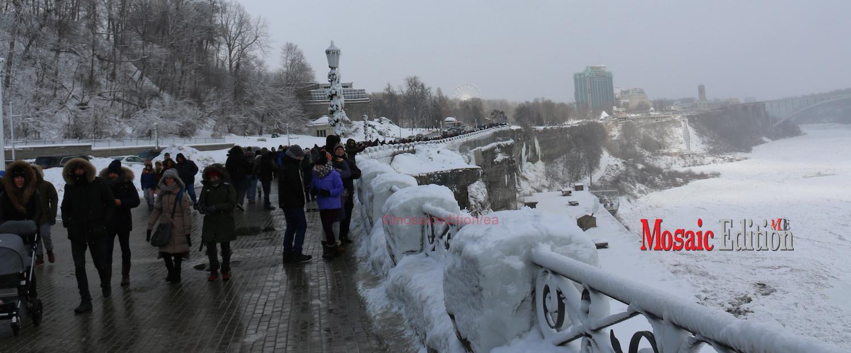 Niagara Falls Freezes Mosaic Edition
