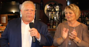 Doug Ford and Sandie Bellows - St. Catharines - Scorecard Harry's Inc. mosaicedition.ca