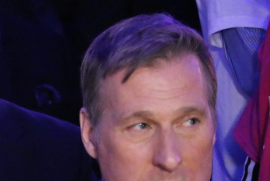 Maxime Bernier as it became obvious he had lost the election in the final round. mosaicedition.ca-ea