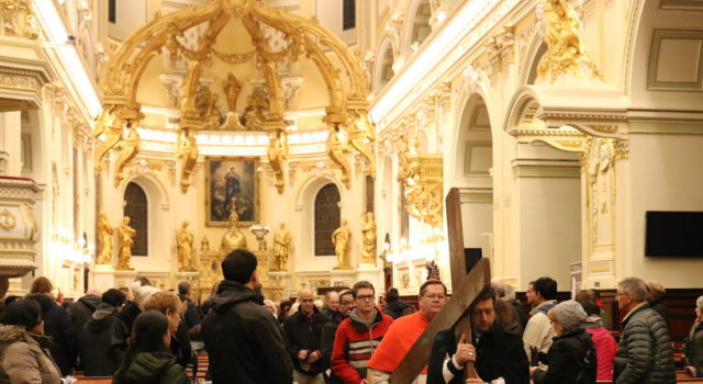 Good Friday Ecumenical Walk with the Cross - The Basilica-cathedral of Notre Dame de Québec