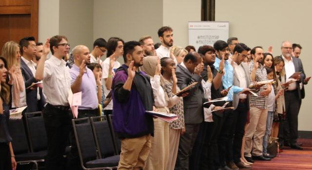 FAN EXPO Canada - special citizenship ceremony - mosaicedition.ca-ea