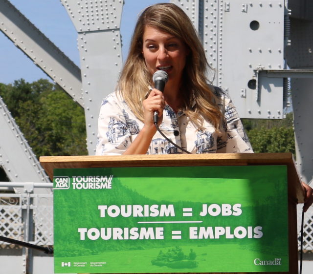 Mélanie Joly-Minister of Tourism-Official Languages and La Fracophonie-mosaicedition.ca-ea