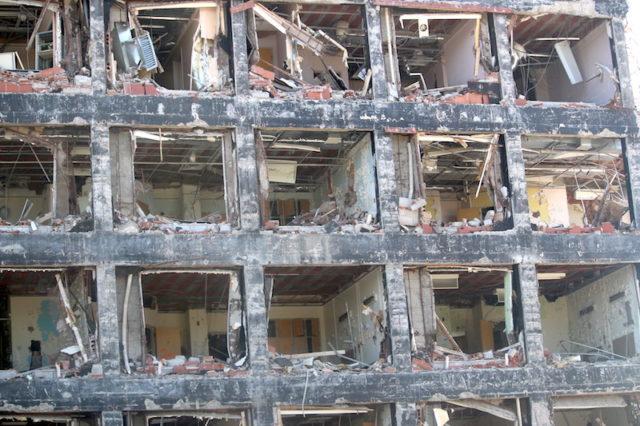 St. Catharines Hospital – demolition – photo-mosaicedition.ca-ea