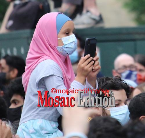 Vigil for Muslim family