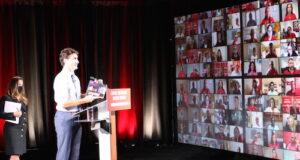 Justin Trudeau presents plan for Canada – Forward for Everyone Photo Mosaic Edition Edward Akinwunmi