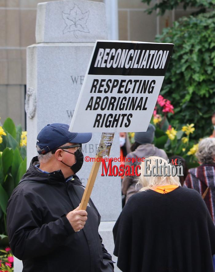 National Day for Truth and Reconciliation – St. Catharines September 30 - Mosaic Edition Edward Akinwunmi