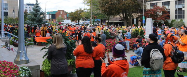 National Day for Truth and Reconciliation – St. Catharines September 30 - Photo Mosaic Edition Edward Akinwunmi