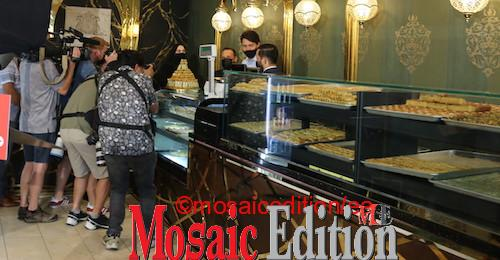 Justin Trudeau was at Nafisa Cuisine Photo Mosaic Edition Edward Akinwunmi