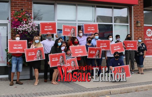 Trudeau Supporters -Photo Mosaic Edition Edward Akinwunmi