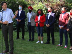 Trudeau addresses racism during campaign stop in Mississauga. Photo Mosaic Edition Edward Akinwunmi